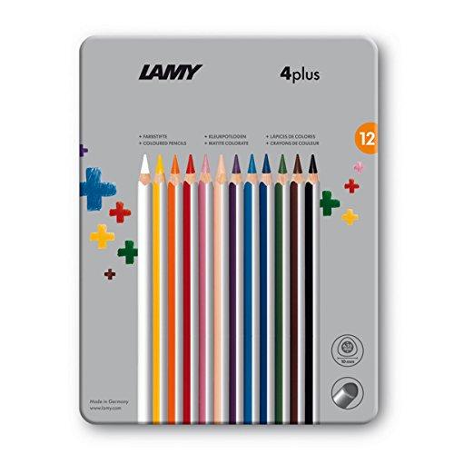 Lamy 4plus 525 FH22005 - Matite colorate, 12 pz