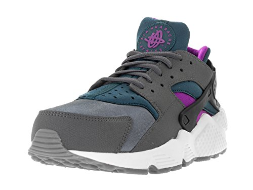 Nike - Wmns Air Huarache Run, Scarpe sportive Donna Grigio (Gris (Dark Grey / Teal))