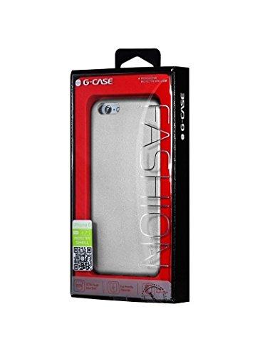 """G-CASE Coque Orila Silver pour iPhone 6+ (5.5"""") Argent"""