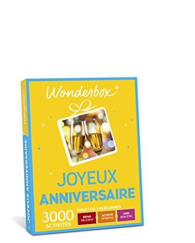 WONDERBOX – Coffret cadeau – JOYEUX ANNIVERSAIRE