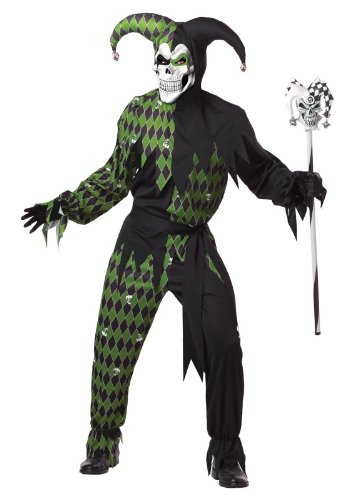 ween Costume For Adults All Sizes (Jester Cane)
