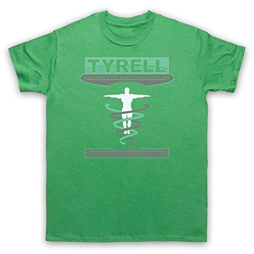 Inspiriert durch Blade Runner Tyrell Corp Unofficial Herren T-Shirt Grun