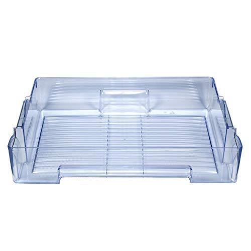 Bosch Balay Pitsos 680288 00680288 ORIGINAL Lebensmittelschublade Chillerfach Gemüseschale Schublade Gemüsefach Kühlfach Kühlschublade Gemüseschublade Behälter Schale Fach 600x140x425mm Kühlschrank