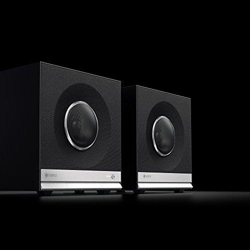 Teufel Raumfeld Stereo Cubes HiFi Streaming Regallautsprecher schwarz - 5