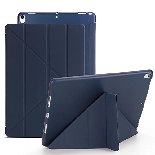 Maeco New iPad Air 2 2014 Case,Ultra Slim Lightweight Case Smart Origami Stand [with Sleep/Wake Function] Soft TPU Back Cover for Apple iPad Air 2/iPad 6 9.7