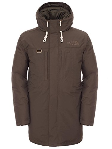 North Face-Parka M Himalayan Long Giacca da uomo Verde verde M