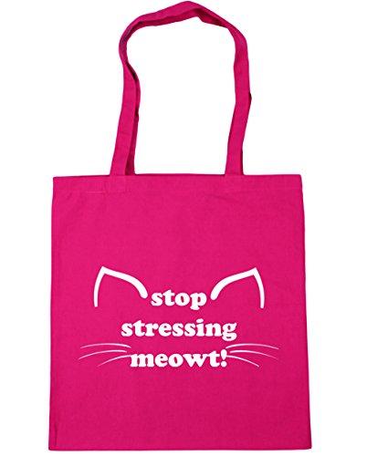 HippoWarehouse ,  Damen Strandtasche Gr. Einheitsgröße, fuchsia (Job-womens Rosa T-shirt)