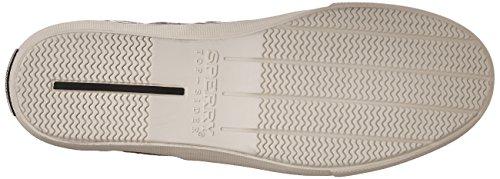 Sperry Top-sider Herren Striper Ll Cvo Lino Sneakers Schwarz (nero)