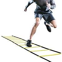 GHB Koordinationsleiter Trainingsleiter Sport Dauerhafte Fußball Agility Leiter 6m mit Tasche