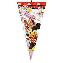 Minnie Mouse - Bolsa cono lunares 20X40, pack 100 unidades (Verbetena 014000044)