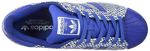 adidas Superstar Snake Pack, Baskets homme bleu/blanc