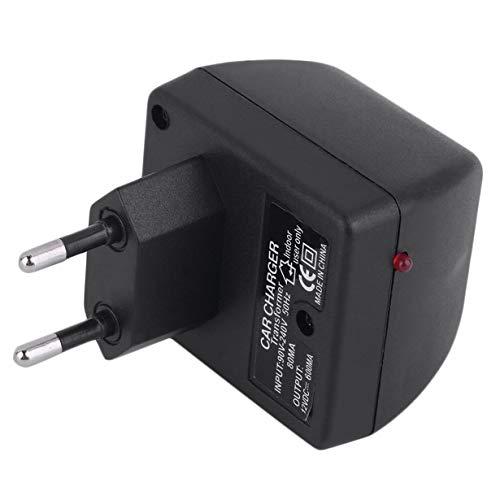 Stromrichter-Adapter, Auto-Stromversorgungs-Konverter-Adapter 220V zu DC 12V Ladegerät-Jack-Sockelzünder Bequemes elektrisches für Haus-EU-Stecker