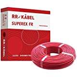 Rr Kabel Superex Fr PVC Insulated Single Core Wire, 2.50 Sq.Mm, Red
