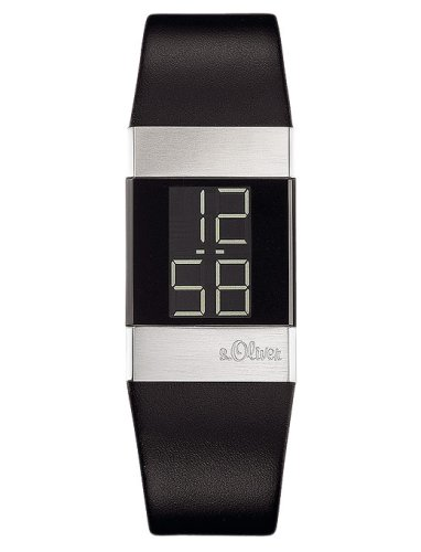 S.Oliver Damen Digital Quarz Armbanduhr SO-1125-LD