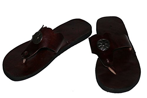 Orientalische Leder Schuhe Sandalen Römersandalen - Gr. 38 [Textilien]