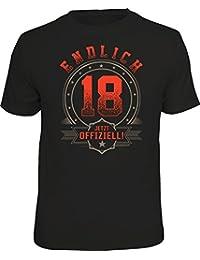 Original RAHMENLOS® Geschenk T-Shirt zum 18. Geburtstag