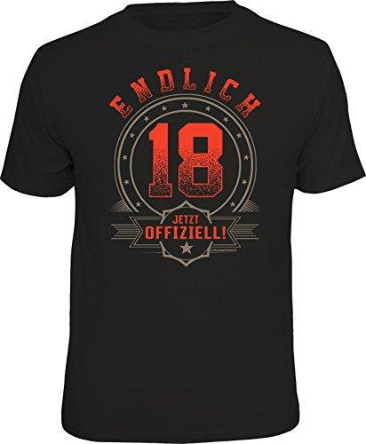 RAHMENLOS-Original-Geschenk-T-Shirt-Zum-18-Geburtstag  RAHMENLOS Original Geschenk T-Shirt Zum 18. Geburtstag 41rF60mZvSL