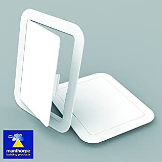 Manthorpe GL100 White Plastic 150mm x 200mm Access Panel Inspection Hatch