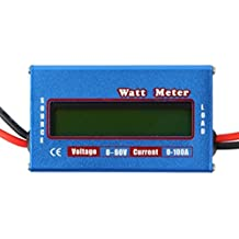 Yosoo LCD Digital 60 V/100A wattmètre équilibre Power Batterie Tension Checker Analyseur