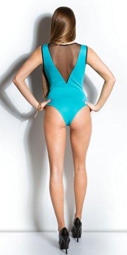 In-Stylefashion - Débardeur - Femme Bleu Bleu Bleu - Aqua