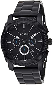 Fossil Men's Machine Quartz Stainless Steel Chronograph Watch Color: