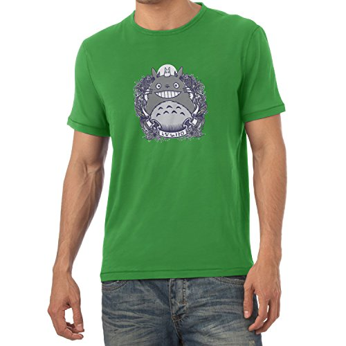 NERDO - Nachbarn - Herren T-Shirt Grün