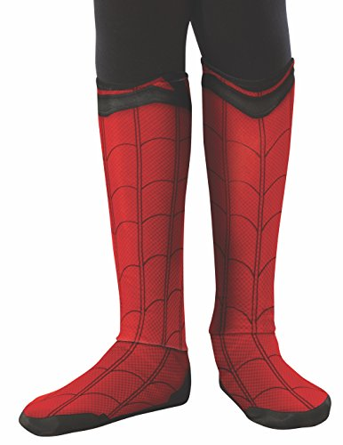 Spider-Man Homecoming Spiderman Child Costume Boot Tops (Spiderman Kostüm Schuhe)