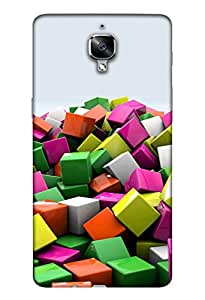 Oneplus 3/3T Mobile Back Cover For Oneplus 3/3T; It Is Matte glossy Thin Hard Cover Of Good Quality (3D Printed Designer Mobile Cover) By Clarks