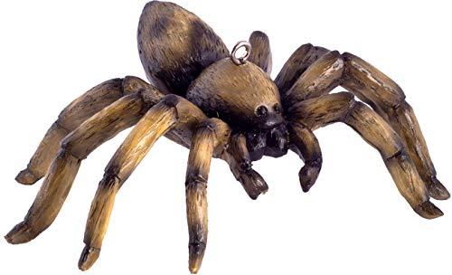 HorrorNaments Spider Horror Ornament - Gruselige Requisite und Dekoration für Halloween, Weihnachten, Partys und Veranstaltungen