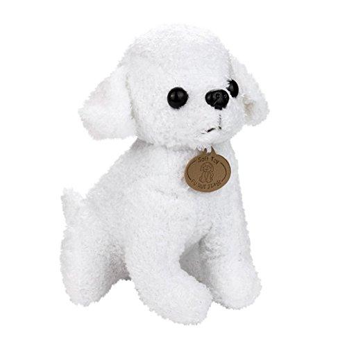 LCLrute Hohe Qualität Teddy Hund Plüschtier 25CM Entzückende Kawaii Pudel Puppy Soft Plüsch Spielzeug Puppe Cute Stofftier Geschenke - Plüschtiere Soft-plüsch