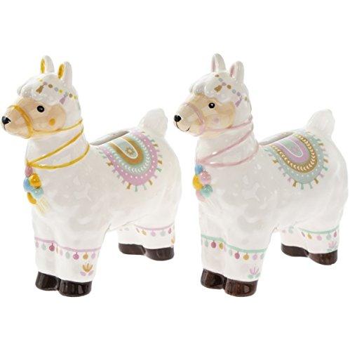 PL L&P Llama - Hucha diseño cerdito tarro ahorro