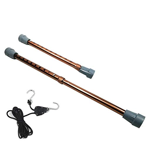 SODIAL Aluminium Legierung + Nylon Halte Stange Werkzeug Seil Satz Dellen Reparatur Hilfs Werkzeug Haube Halte Stange Kupfer (Und Seile Stangen)