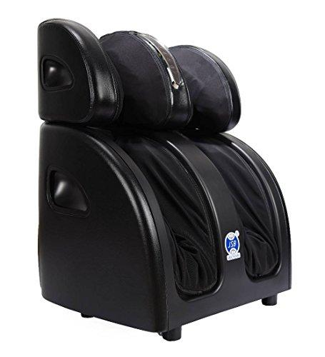 JSB HF60 Shiatsu Leg, Foot and Thigh Massager with Heat
