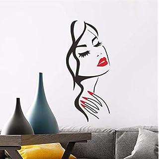 TOYP DIY Familie Wandaufkleber Removable Decals Vinyl Kunst Raumdekor Aufkleber Wanddekor Adesiv 24,5x58 cm