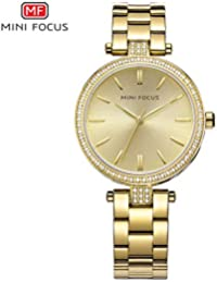 HWCOO Hermoso Relojes de Pulsera Reloj de Cuarzo Mini Focus/Fashion Ladies (Color :