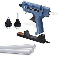Steinel Gluematic 5000 sıcak tutkal tabancası, şarj istasyonu, damlama kasesi, kablosuz, 5 yapışkan çubuk dahil, 11 mm ve 2 başlık dahil