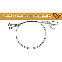 Savage Gear Titanium Jerkbait Vorfach 22cm 0,5mm 20kg 2 Vorfächer Titanvorfach