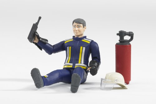 "Image of Bruder 60100 ""Fireman"" Figure"