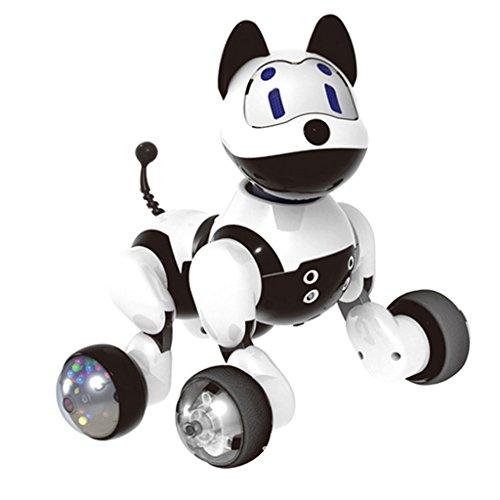 Bienvenido a MagiDeal. Buenos productos con excelente calidad y precio razonable. Su satisfacción es nuestro objetivo final.           Descripción:       - Interactive Smart Robot Dog: este cachorro versátil puede cantar, bailar, contar chist...