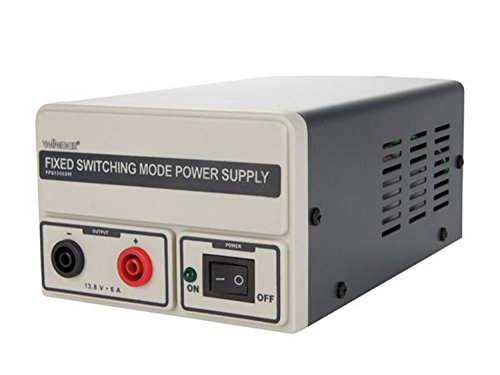 Velleman FPS1306SM Netzgerät-Festspannung-13.8 Vdc / 6 A-Schaltnetzteil