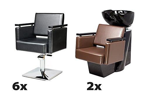 piazza-6-x-silln-peluqueria-2-x-lavabos-de-peluquera-tapicera-de-100-colores