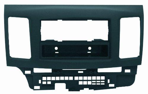 Phonocar 3/536Radioeinbauset ISO/Doppel-DIN für Mitsubishi Lancer/Lancer Evo schwarz (Mitsubishi Lancer Doppel Din Kit)