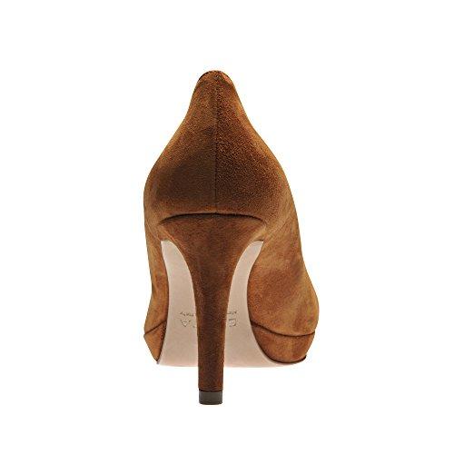 Daim Bianca Femme Escarpins Oqwnp4xavi Cognac Evita Shoes U7Urw