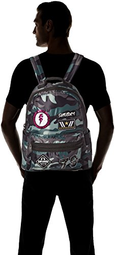 Superdry Women's Midi Punk Backpack Multicolour Multicolore - Patched Camo Image 6