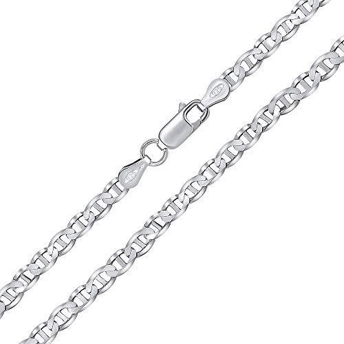 SILVEGO Silberkette Marine 3,2 mm (50 Zentimeter)