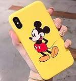 Art-design Coque iPhone 7+ Plus et iPhone 8+ Plus Mickey Minnie Mouse Retro Effet...