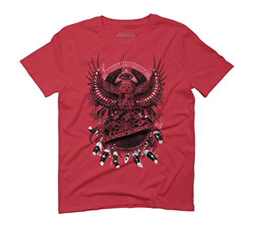 Dream Quest II Men's 3X-Large Red Graphic T-Shirt - Design By Humans (Shirt Quest Crew)