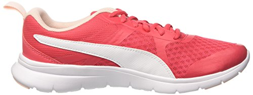 Puma Unisex-Erwachsene Flex Essential Cross-Trainer Pink (Paradise Pink-Puma White)