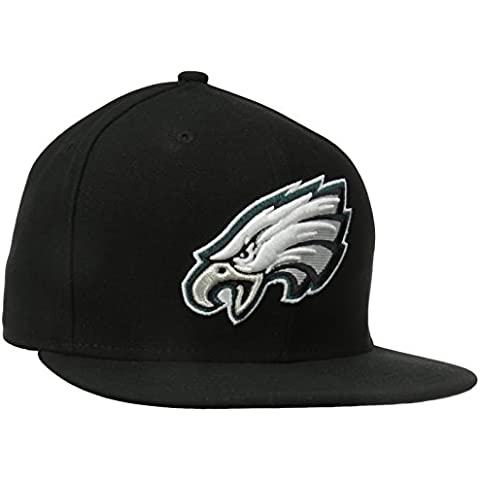 New Era NFL PHILADELPHIA EAGLES Authentic On Field 59FIFTY Game Cap, Größe:8
