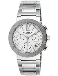 ae75fd36154  Bulgari  Bvlgari reloj bb38wssdch Bulgari Bulgari Cronógrafo Blanco  Hombres  paralelo mercancías de importación